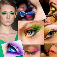 Realce os lábios e os olhos com truques de maquiagem